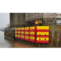 FRP anti-collision device for protecting ship and vehicles thumbnail image