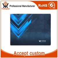 Custom Logitech Top Game Mouse Pad with Lock Edged (Anti-Slip)