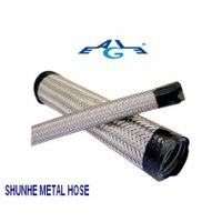 pvc coated flexible conduit with ss wire braided thumbnail image