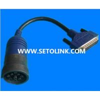 J1939 DEUTSCH CONNECTOR TO DB25 PIN OBDII AUTO DIAGNOSTIC CABLE thumbnail image