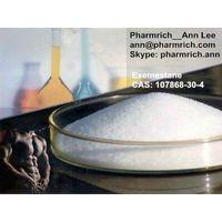 Aromasin Exemestane Anabolic Steroid CAS: 107868-30-4 Anti Estrogen