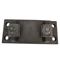 Rail System W14 Base Plates in Qt450-10