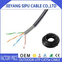 Hotsale 1000ft utp waterproof network cat5e outdoor cable