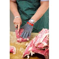 Stainless steel mesh butcher glove meat processing glove