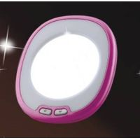 Led mini make up mirror
