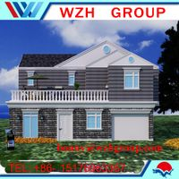 Light steel villa and frame house made in China