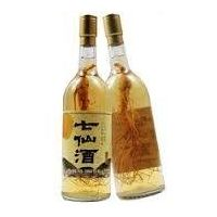 Korean Ginseng Root in Taiwan White Wine