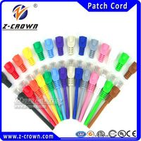 UTP CAT 5E Patch Cord With UTP Patch Cable Pass Fluke Test 7X0.18MM