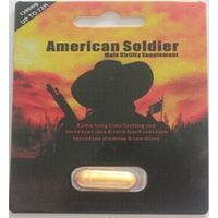 American Soldier Sexual Capsule for prolong male sex time pill