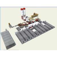 fully automatic JQT lightweight partition wall board production line