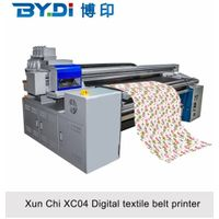 Large Format Textile Printer With 4 Head Epson Digital Printing Machine XC04