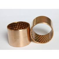 Wrapped bronze bushing