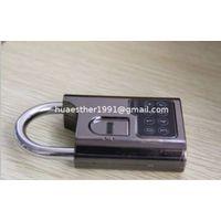 biometric fingerprint padlock also called fingerprint padlock and itouch padlock used in school, war