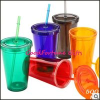 Advertising Tumblers Mugs with print logo plastic cup