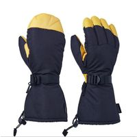 Winter Water resistance Cowhide Warm gloves (013) thumbnail image