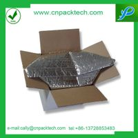 thermal insulation silver foil fruit  preservation packaging insulated box