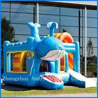 Whale Inflatable Castle thumbnail image