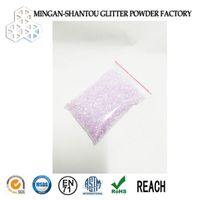 shoe glitter rainbow glitter for shoe industry
