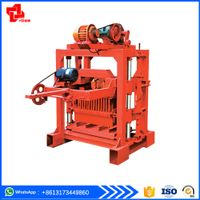 QTJ4-40B2 concrete block making machine