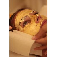 24K Real Gold Leaf Gold Foil as Face Mask for Spa Use thumbnail image
