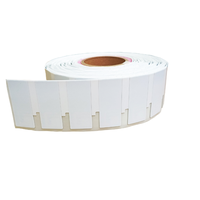 EPC C1G2 (ISO18000-6C) 860-960MHz Impinj Monza R6-P medium UHF anti-metal sticker tag