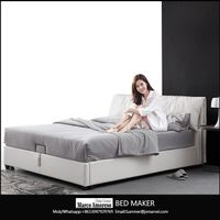 bed room furniture bedroom set modern leather bed modern bed frame