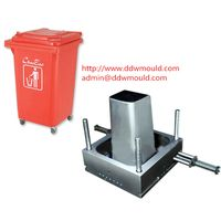 DDW Outdoor Using Plastic Trash Bin Mold