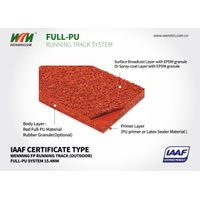 Athletic Track & Field System Material Product(Full-PU system,IAAF certificated) thumbnail image
