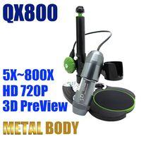 Usb digital microscope camera 800X HD720P 3D preview