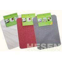 non-slip mat pvc foam mat coaster tray liner placemat