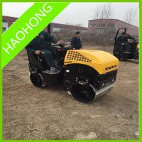 2 ton full hydraulic ride-on road roller compactor