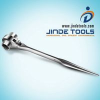 Double tail ratchet wrench