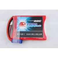 1800mAh 30C 7.4V lipo batteries for jump starter