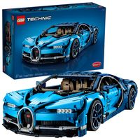LEGO Technic Bugatti Chiron Building Kit (3599 Piece), Multicolor