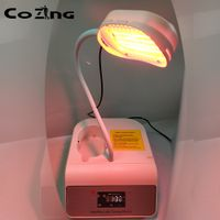 NEW Portable Light PDT LED Therapy 2 Color Led Face Mask Light Phototherapy Lamp Machine for Skin Re
