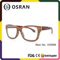 Professional Factory Supply China Wholesale Famous Wooden Brands Glasses Frame