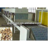 Tunnel continuous industrial grain drying and sterilization equipment