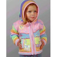 Child wool sweater with arpillera thumbnail image