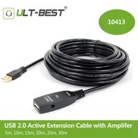 USB Extension Cable USB2.0 Active Repeater A Male to A Female Long Cables With Signal Booster Chips