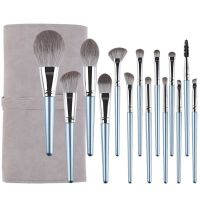 14 PCS Premium Makeup Brush Set Synthetic Cosmetics Foundation Powder Concealers Blending Eye Shadow