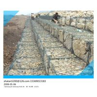 ASTM A 975 standard heavily galvanized gabion baskets for hydraulic engineering