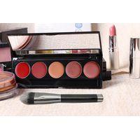 Black Acrylic Eye Shadow Blush Makeup Brush