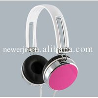 colorful metal headsets