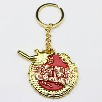 sonier-pins custom soft enamel keychain with plating gold with free design