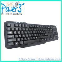 Computer Multimedia Arabic Keyboard with 20 Hot Keys