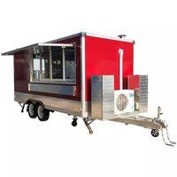 Street fast food mobile cart food truck mobile restaurant food van thumbnail image