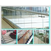 Balustrade Stainless steel handrail railing, outdoor hand railings for stairs