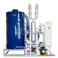 UNISTEAM-X STANDARD 1000 gas and diesel steam boiler for food, beverage industries