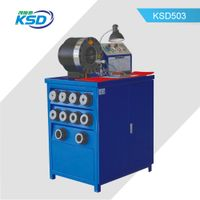 "CE 1/4-2"" automaitc hydraulic hose crimping machine with dies table"