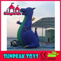 R-001 Giant Dinosaur Advertising Used Inflatable Cartoon Characters